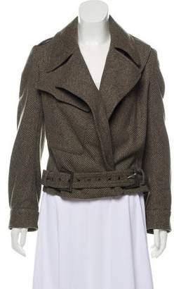 Calvin Klein Collection Collared Wool Jacket