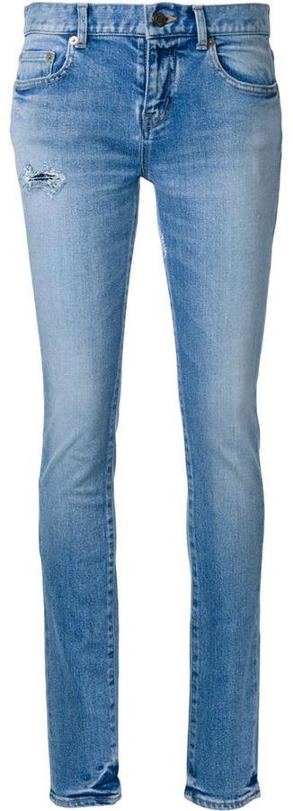 Saint LaurentSaint Laurent low waisted skinny jeans