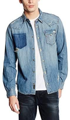 True Religion Men's Ryan Slim Fit Western Shirt