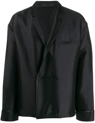 Haider Ackermann double breasted jacket