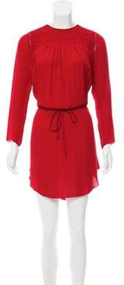 Ulla Johnson Silk Pleated Dress
