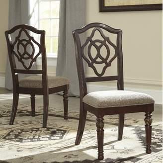 Three Posts Cedar Creek Upholstered Dining Chair (Set of 2)