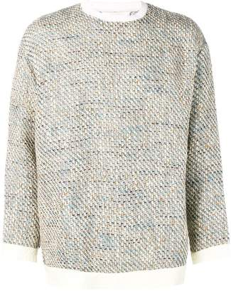 Digawel waffle knit jumper