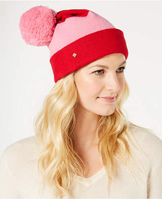 Kate Spade Colorblocked Beanie
