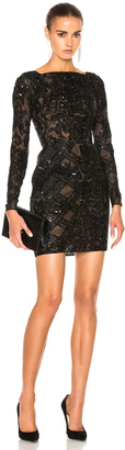 Zuhair Murad Embroidered Tulle Mini Dress $9,790 thestylecure.com