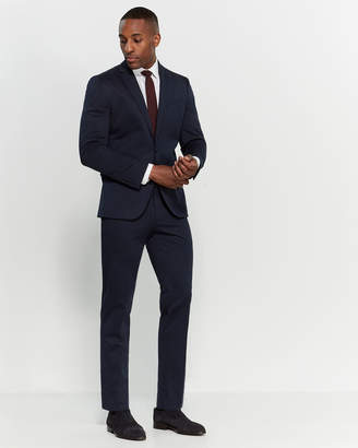 Kenneth Cole Reaction Navy Two-Piece Slim Fit Suit