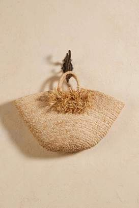 Soft Surroundings Afternoon Pom Pom Tote