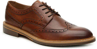Aston Grey Aberia Wingtip Oxford -Tan - Men's