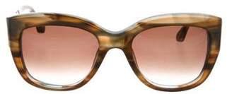 Elizabeth and James Marble Oversize Sunglasses