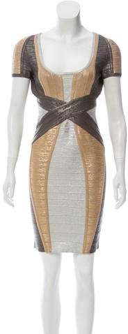 Herve Leger Carolyn Bandage Dress