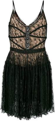 Alexander Wang floral bodice dress