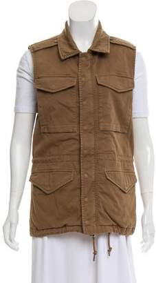 J Brand Structured Casual Vest