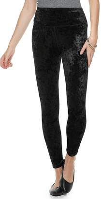 So Juniors' SO Velour High-Waisted Yoga Leggings