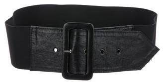 Alice + Olivia Leather Hip Belt