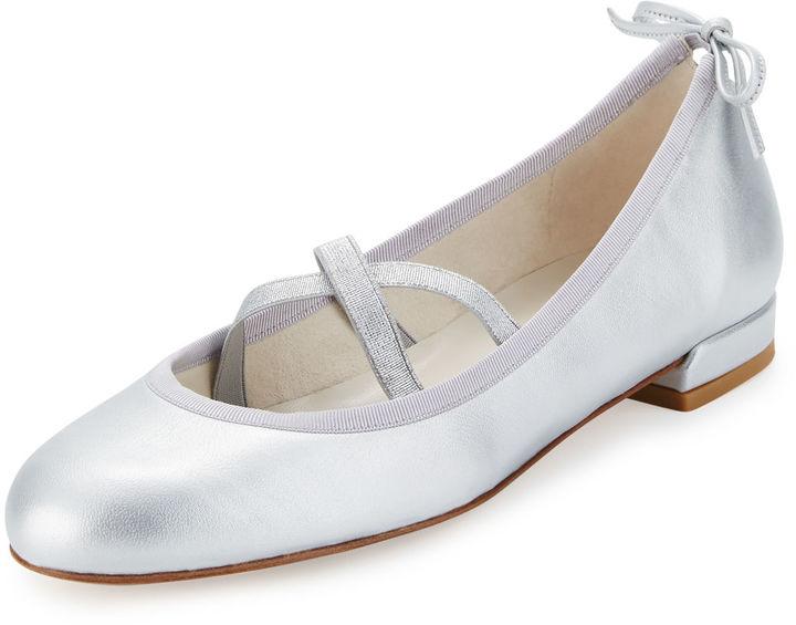 Stuart Weitzman Bolshoi Napa Ballerina Flat 3