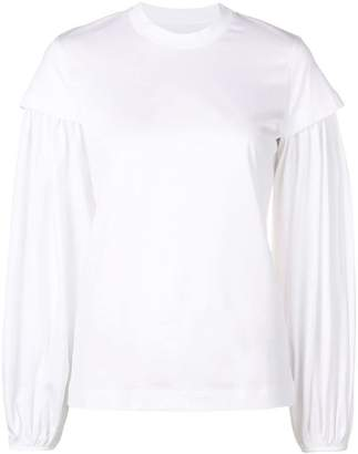 Marques Almeida Marques'almeida fitted long-sleeve top