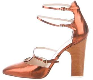 Chloé Leather Multi-Strap Pumps