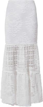 Nightcap Clothing Crochet Maxi Skirt