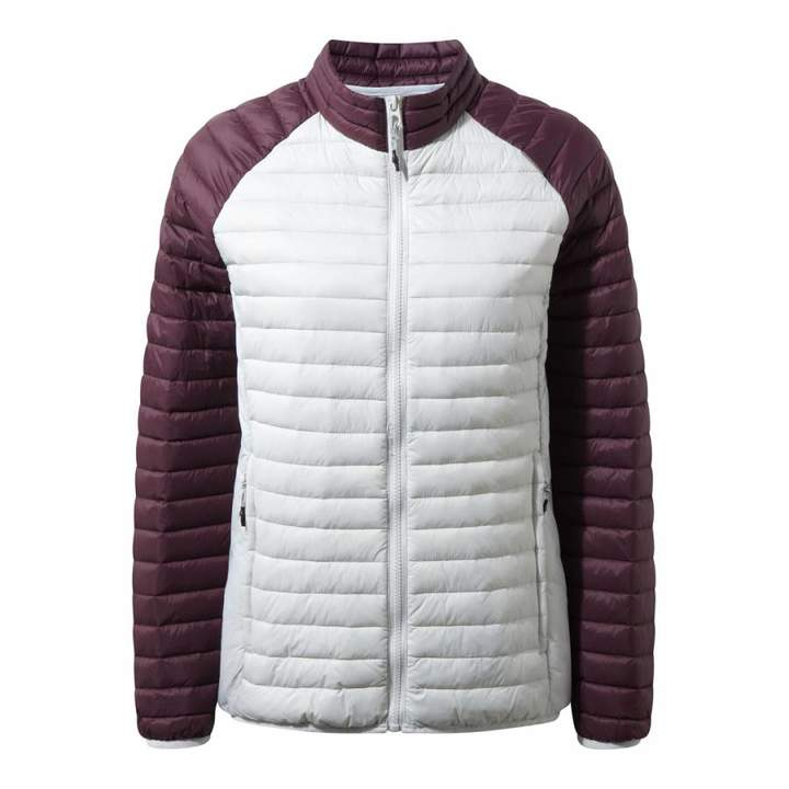 White/Purple Venta Lite II Jacket
