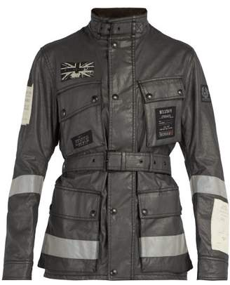 Belstaff Trialmaster Waxed Cotton Jacket - Mens - Black
