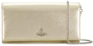 Vivienne Westwood wide logo wallet