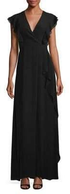 BCBGMAXAZRIA Callie Ruffle Gown
