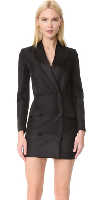 IRO IRO x Anja Rubik Quiya Tuxedo Dress $899 thestylecure.com