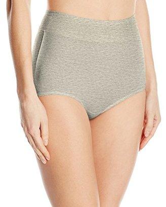 Warner's Women's Body Heaven Muffin Top Cotton Brief $6.99 thestylecure.com