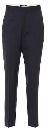Isabel Marant Hero striped stretch wool pants