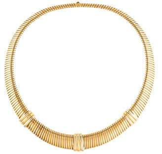 Cartier Ribbed Collar Necklace