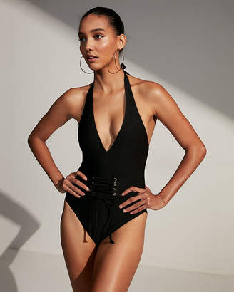 Express Corset One-Piece Swimsuit