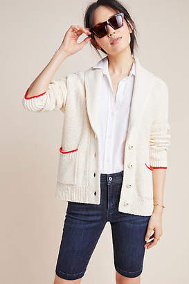 Anthropologie Lobster Knit Cardigan