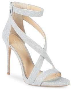 Vince Camuto Imagine Devin Shimmer Fabric Sandals