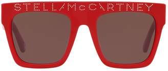 Stella McCartney Dotted Logo Sunglasses