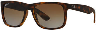 Ray-Ban Polarized Justin Gradient Sunglasses, RB4165 54