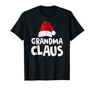 Grandma Claus Shirt Christmas Santa Matching Family Tribe