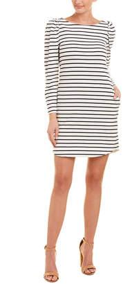 La Vie Rebecca Taylor Striped Sheath Dress