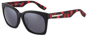 McQ Cat Eye Polka-Dot Plastic Sunglasses