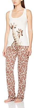 Cheap Sale With Paypal Clearance Geniue Stockist Womens Tiara Giraffe Vest and Pant Pyjama Sets Boux Avenue 100% Authentic Online eOb36s6sb