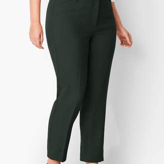 Talbots Plus Size High-Waist Tailored Ankle Pant