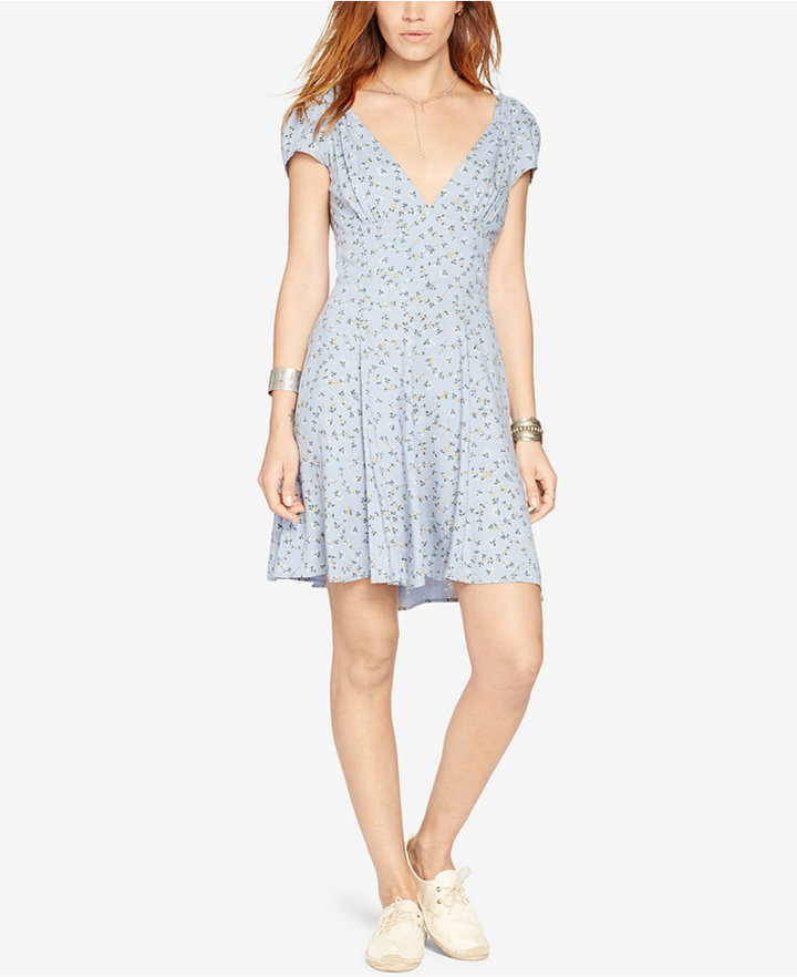 Denim & Supply Ralph Lauren Floral-Print V-Neck Dress 3
