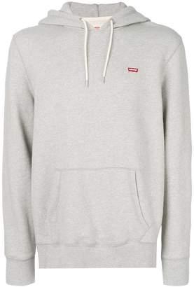 Levi's logo detail hoodie