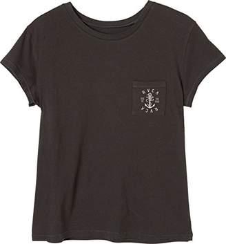 RVCA Junior's Sea Pocket T-Shirt
