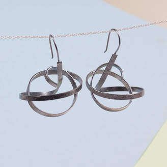 SUMMER AND SILVER Silver Maels Earrings