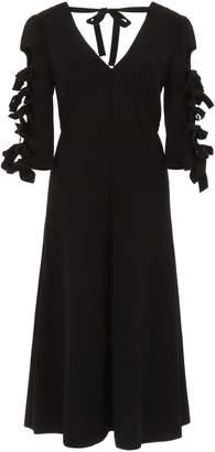 Bottega Veneta Dress With Bows On Sleeves