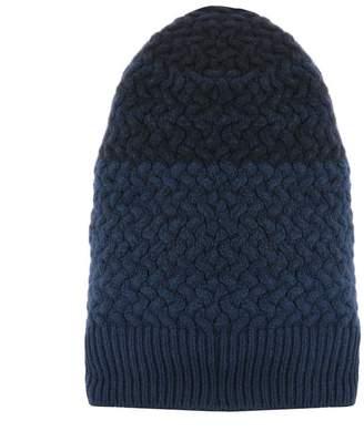 Drumohr Blue Wool Hat