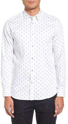 Ted Baker Monico Slim Fit Dot Diamond Sport Shirt
