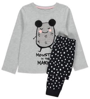 George Monster Kids Mini Me Christmas Pyjamas