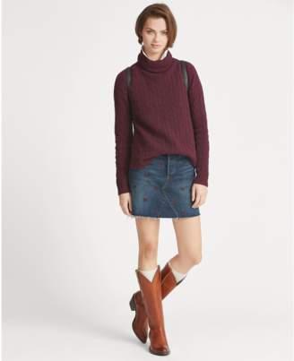 Polo Ralph Lauren Embroidered Denim Skirt