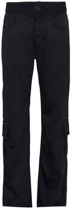 Wales Bonner Knit waistband unisex cargo pants